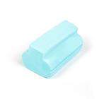 Губка для мытья, влаговпитывающая 12x5 см, микс