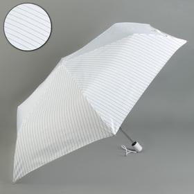 "Automatic umbrella ""Strip"", 3 additions, 6 knitting needles, R = 50 cm, white"