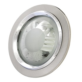 Светильник встраиваемый Pento 15Вт E27 никель Ош
