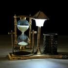 "Clocks ""Street lantern"" with highlighting and pencil, 6.5x15.5x14.5 cm, mix"