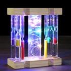"Clocks ""Glow"" with light, 11х5х13.5 cm"