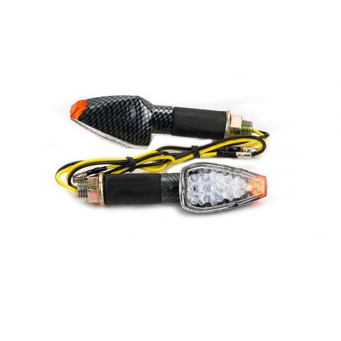 Поворотники LED QZ-003, светодиодные, 2 шт