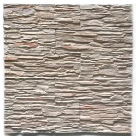 Декоративный камень Сланец каскад (40шт в наборе), коричневый, 1м2