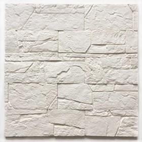Декоративный камень Доломит (40шт в наборе), белый, 1м2