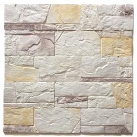 Декоративный камень Доломит (40шт в наборе), пастель, 1м2