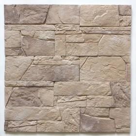 Декоративный камень Доломит (40шт в наборе), коричневый, 1м2