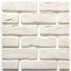 Декоративный камень Кирпич оригинал (54шт в наборе), белый, 1м2