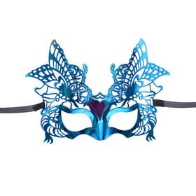 Карнавальная маска «Кокетка», цвета МИКС