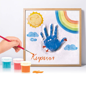 Набор для создания гипсового слепка с росписью «Птица» (для мальчика)