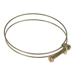 Хомут проволочный MGF W1, 4', диаметр 92-102 мм, оцинкованный Ош