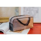 Purse-handbag, a Department with a zipper, handles, color brown