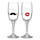 """Набор бокалов для шампанского """"Mr.&Mrs"""" 2 штуки"""