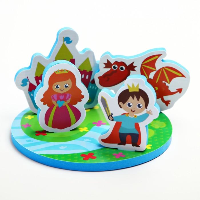 Набор игрушек для ванны «Сказка» - фото 685531338