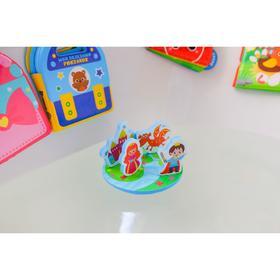 Набор игрушек для игры в ванной из EVA «Сказка», 5 предметов