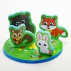 Набор игрушек для ванны «На полянке»