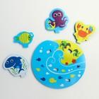 Набор игрушек для ванны «Морские друзья» - фото 105536293