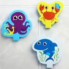 Набор игрушек для ванны «Морские друзья» - фото 105536294