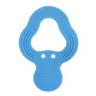 Прорезыватель силиконовый «Дерево», цвет голубой