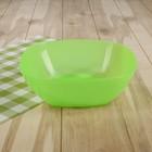 Салатник 1,6 л, цвет зеленый
