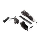 Машинка для стрижки Polaris PHC 2102RC, от АКБ, корпус Soft Touch, черная