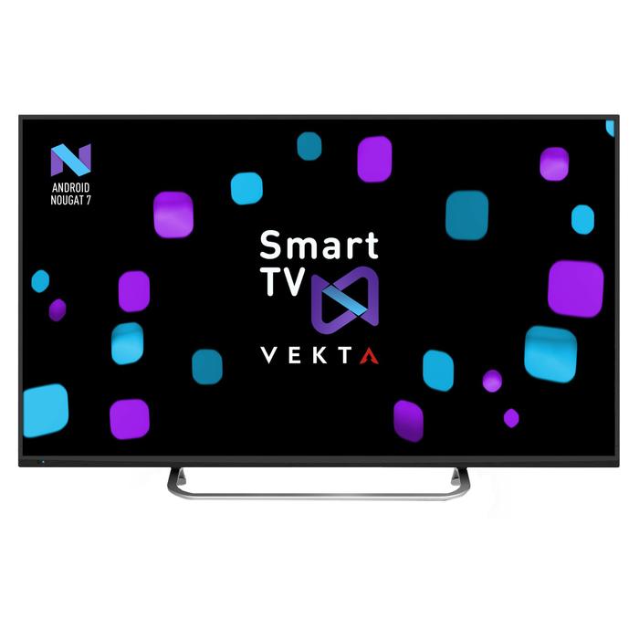 "Телевизор Vekta LD-50SU8719BS, LED, 50""/127 см, ULTRA HD 3840x2160, Smart TV, черный"