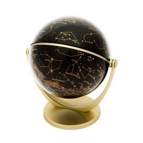 Глобус «Звёздное небо с рисунками зодиакальных созвездий», диаметр100 мм