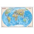 Карта Мир Политическая 122*79см 1:25М лам на рейках в пласт тубусе ОСН1234474