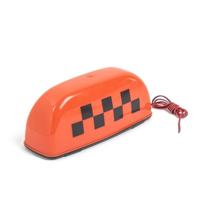 """Знак """"Такси"""" на магните, оранжевый"""