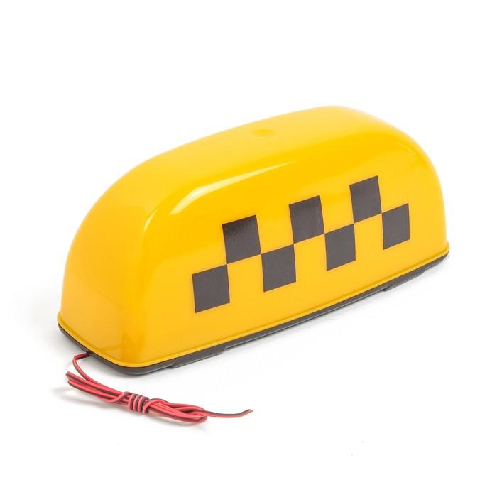 """Знак """"Такси"""" малый, желтый"""