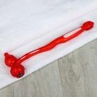 Массажёр-колотушка, универсальный, цвет красный