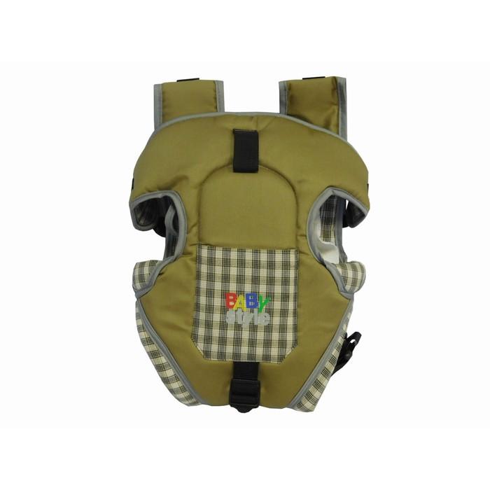 Рюкзак-кенгуру «Томик», 4 положения, от 3 до 12 месяцев, до 12 кг., цвет бежевый