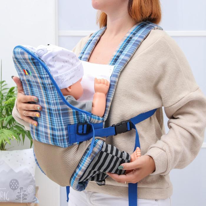 Рюкзак-кенгуру «Лимбо», 2 положения, 0-12 месяцев, до 11 кг., мультиколор
