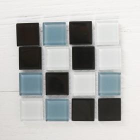 Mosaic glass adhesive, No. 24, color shades of grey