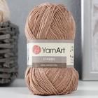 """Пряжа """"Etamin"""" 100% акрил 180м/30гр (447 св. коричневый)"""