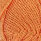 "Пряжа ""Saten 50"" 100% микроакрил 115м/50гр (10157 апельсин)"