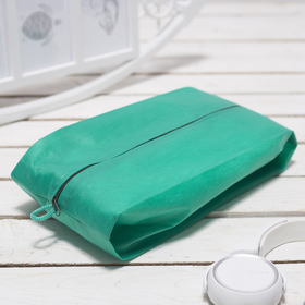Сумка для обуви, 1 отдел на молнии, цвет ярко-зелёный Ош