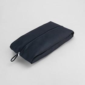 Сумка для обуви, 1 отдел на молнии, цвет чёрный Ош
