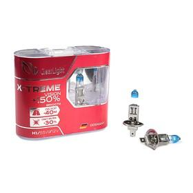 Галогенная лампа Clearlight X-treme Vision +150% Light, H1, 12 В, 55 Вт, набор 2 шт Ош