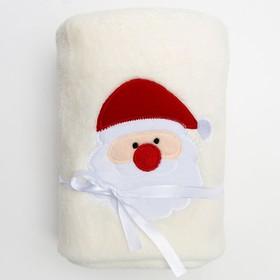 Плед «Дед Мороз», 80 × 100 см, корал-флис, 200 г/м², п/э 100 % Ош