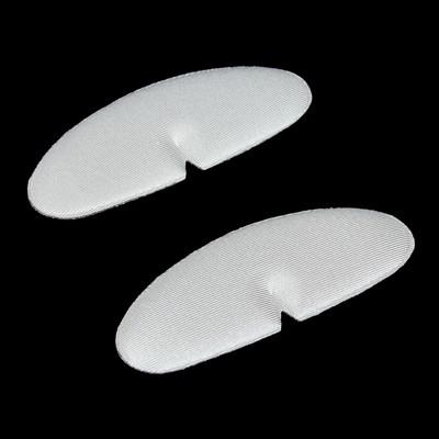 Пяткоудерживатели для обуви, клеевая основа, пара, 12,5 х 4,5см, цвет серый
