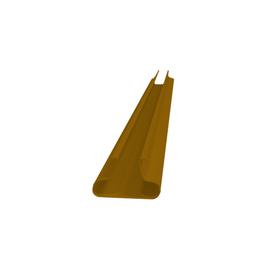 Вставка в панель, цвет тёмно-коричневый L120 Ош