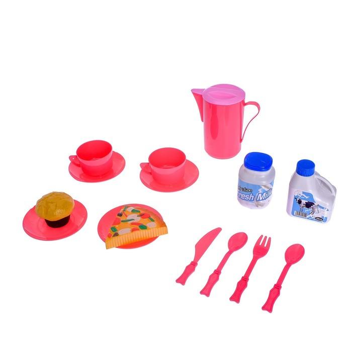 """Набор посуды """"Сытный завтрак"""", 15 предметов"""