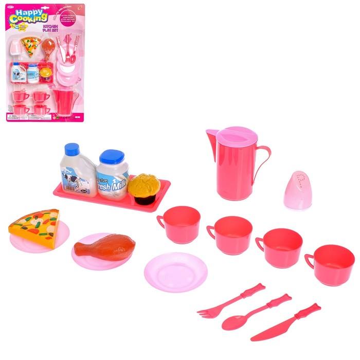 """Набор посуды """"Сытный обед"""", 18 предметов"""