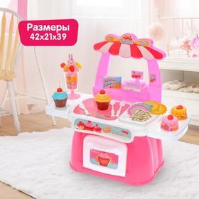 Игровой модуль «Кухня Пироженка» с посудой и продуктами