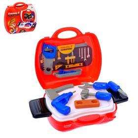 Игровой набор в чемоданчике «Умелец Я», 18 предметов