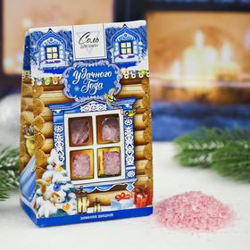 Соль в пакете 'Удачного Нового года' зимняя вишня, 400 г Ош
