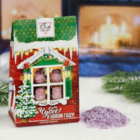 Соль в пакете 'Чудес в Новом году' зимняя вишня,  400 г Ош