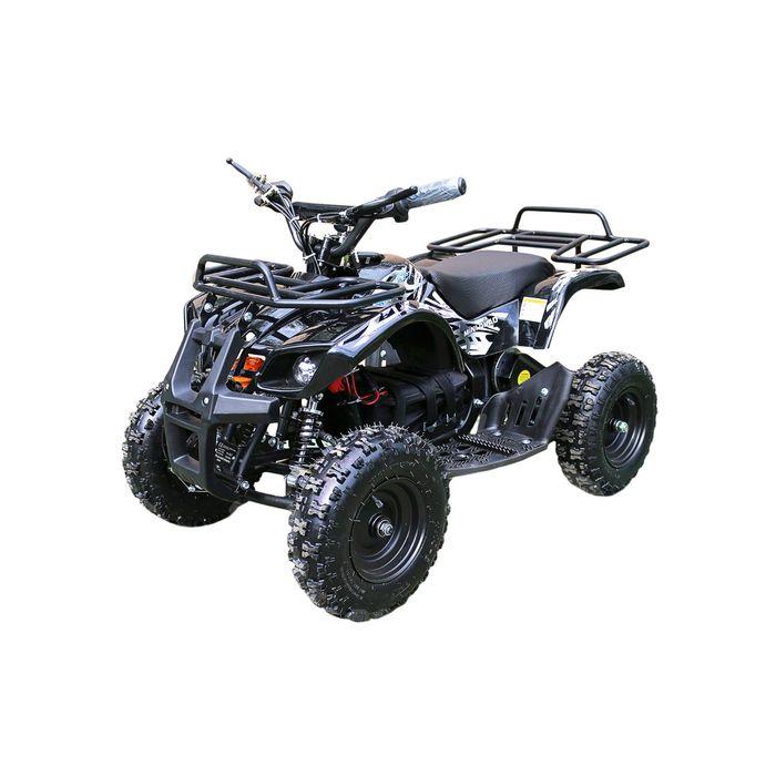 Детский электро квадроцикл MOTAX ATV Х-16 1000W BIGWHEEL (большие колеса), черный