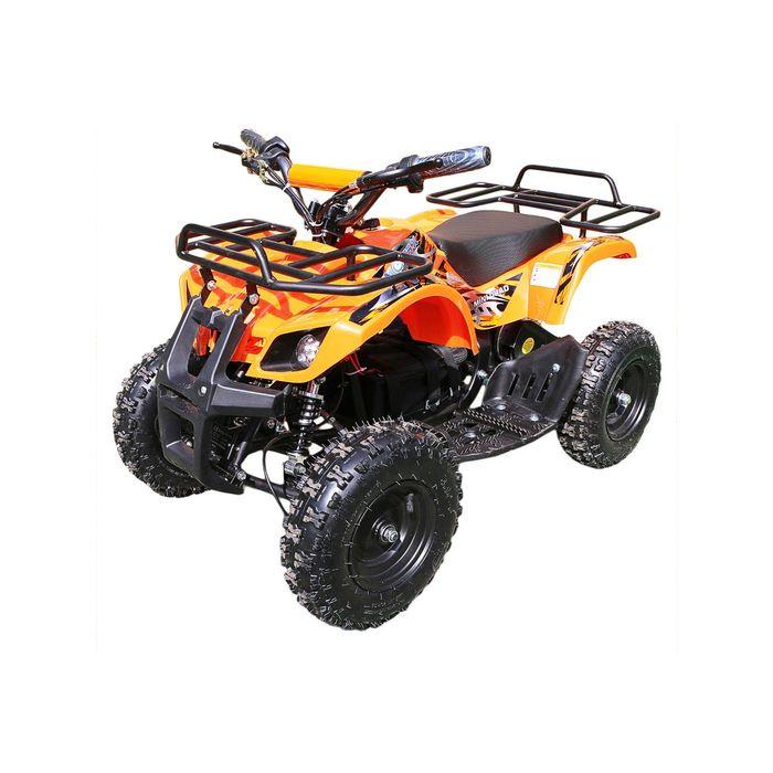 Детский электро квадроцикл MOTAX ATV Х-16 1000W BIGWHEEL (большие колеса), оранжевый
