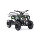 Детский электро квадроцикл MOTAX ATV Х-16 1000W BIGWHEEL (большие колеса), зеленый комуфляж